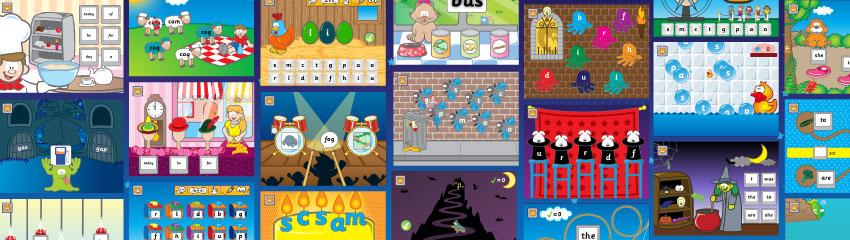 Games banner image.