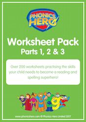 buy phonics worksheets - all
