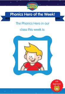 hero of the week poster